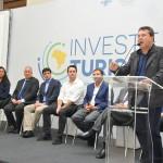 Solenidade de lançamento do Investe Turismo