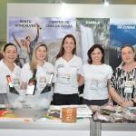Soraia Lima, Melina Casagrande, Barbara Konrath, Fernanda Meinerz, e Rosângela Potter, das Serras Gaúchas