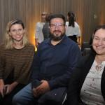 Tatiana Turra, Alexander Silva e Adriani Vortolini, do Curitiba Turismo