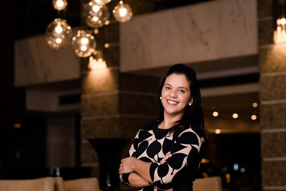 Tatiane Marques é a nova gerente geral do Grand Hotel Rayon