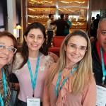 Thais Borges, da Speed Viagens, Barbara Richa, da Barbara Richa Viagens Personalizadas, Amanda Albuquerque, da Personal TRIP e Daniel Fernandes, do Hotel Ajato