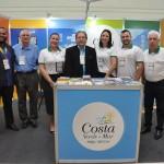 Valdir Walendowsky e equipe da região Costa Verde e Mar