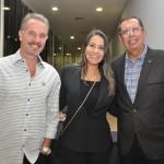 Victor Fonseca, Alessandra Veiga e Benedito Braga, da Setur-BA