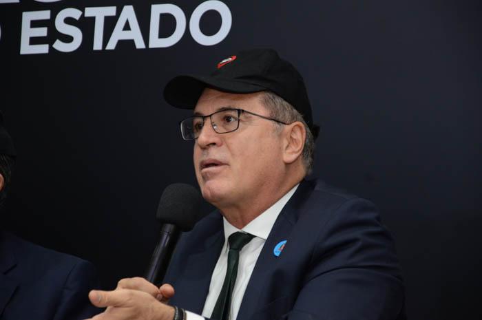 Vinicius Lummertz, durante o lançamento da campanha São Paulo Para Todos