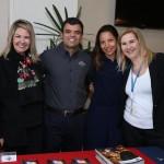 Viviane Fernandes, da Nice Via Apia, Renato Gonçalves, da Universal, Patricia Lacerda, da American, e Lucia Motta, da Nice Via Apia
