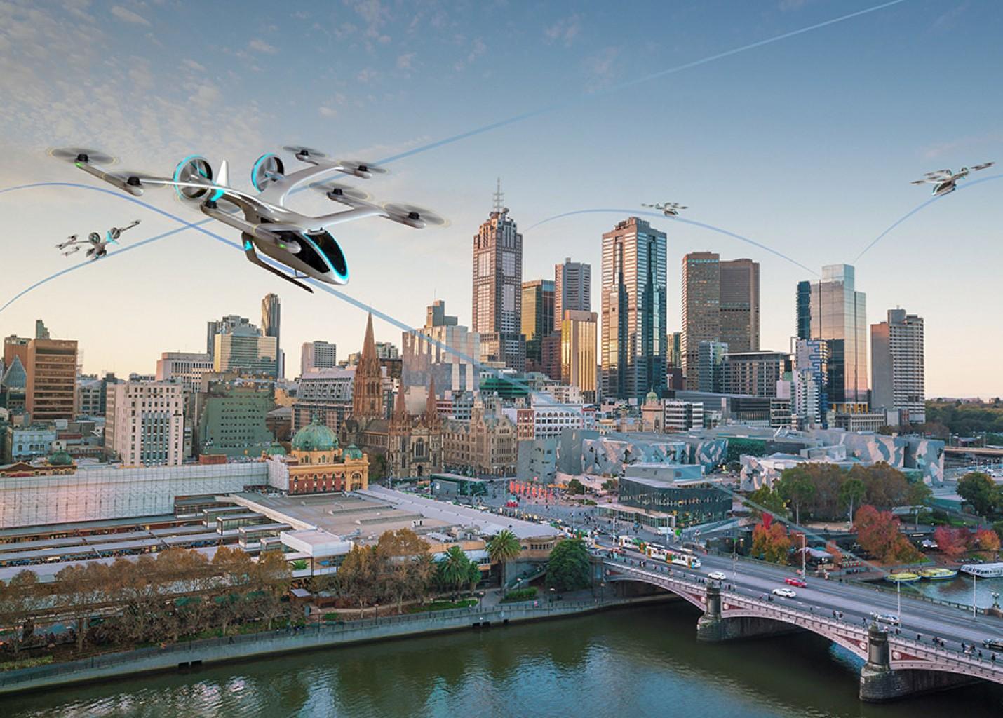 EmbraerX revela conceito de veículo voador elétrico em Washington; vídeo