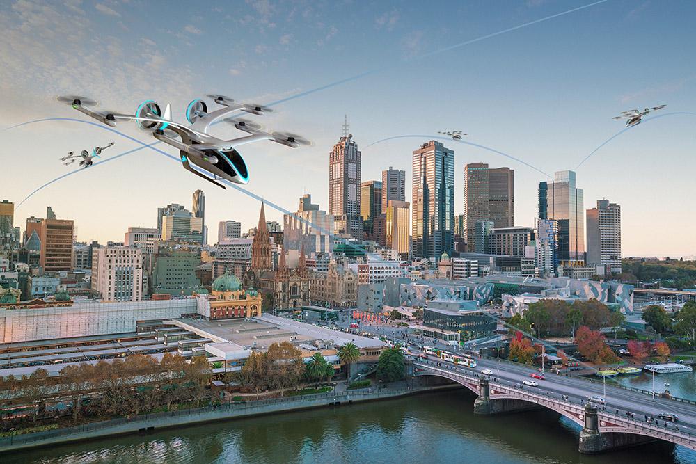 eVTOL Melbourne