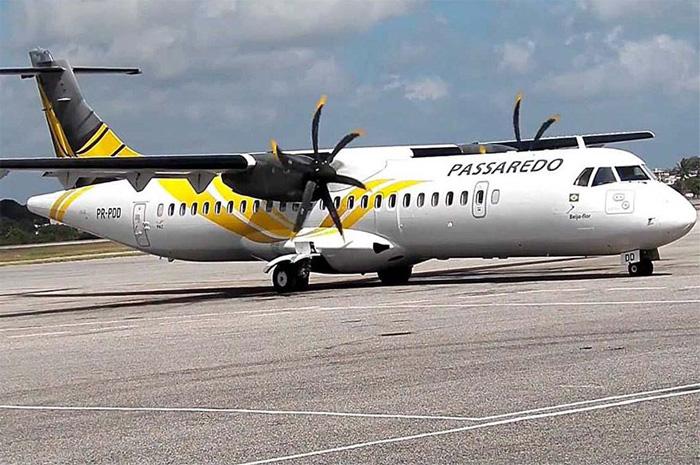 Passaredo manterá os voos regulares no Santos Dumont, na pista auxiliar