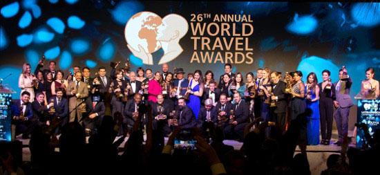 Premiados no World Travel Awards