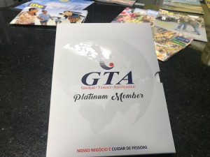 Viagens internacionais do M&E são feitas sempre com proteção GTA