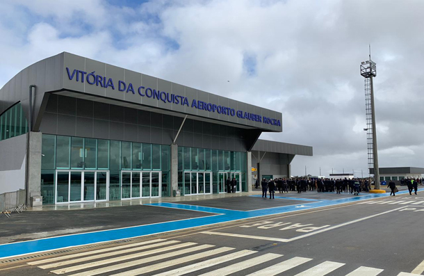 Aeroporto inaugurado em Vitória da Conquista (BA)