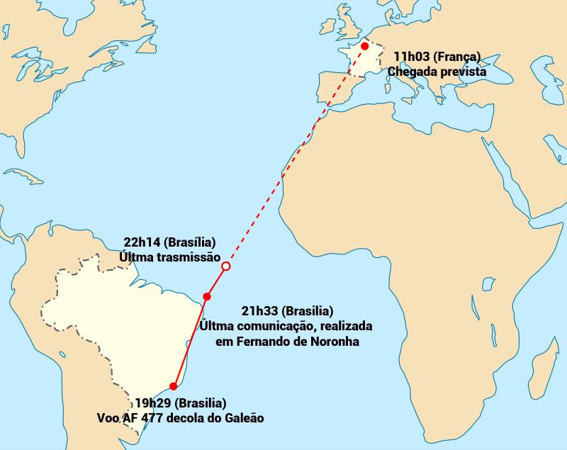 Air France acidente