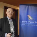 Altamiro Médici, gerente da South African Airways no Brasil