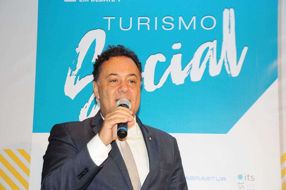 Aluizer Malab, secretário Nacional de Desenvolvimento e Competitividade do Turismo Brasileiro