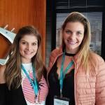 Amanda Puertas (Viagens e Turismo, Barra Bonita) e Evelin Castelho (Sem Froneiras, Bauru)