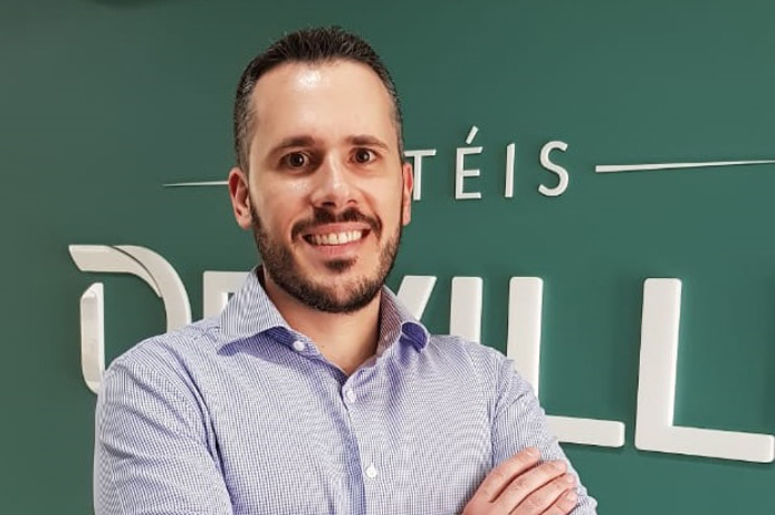 André Bustamante, novo gerente de Receitas da Rede Deville