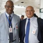Antonio Socorro, diretor de Operação de Terra, e Raul Andrade, VP de Vendas e Marketing