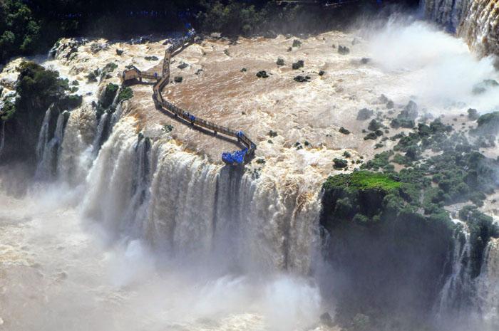 Argentina, Paraguai e Estados Unidos lideram o ranking de visitantes do atrativo