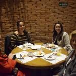 Célia Fajtlowicz, da Terra Master; Bruna Valente e Claudia Lino, da Gate Tour; e Edi Sargenti, da Casa do Agente