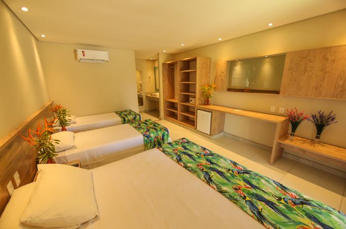 A obra faz parte do projeto de ampliação e modernização do resort. (Divulgação)