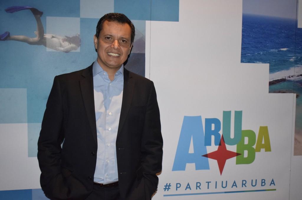 Carlos Barbosa, diretor da Autoridade de Turismo de Aruba