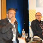 Carlos Lopes, da Coobrastur, e João Evangelista, da UFF