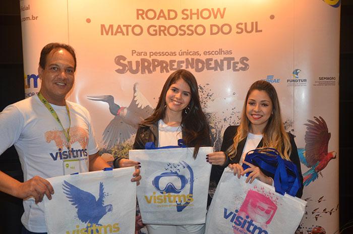 Convidados foram recibidos na entrada com uma sacola personalizada do evento