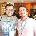 Carlos Ávila (Antaris Travel, Bragança Paulista) e Diogo Souza (Calamares Turismo, Campinas)