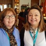 Cristina Benatti (Solutions, Serra Negra) e Simone Cirne (Familly Travel, Botucatu)