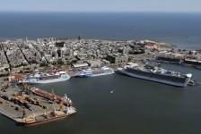 Turismo de cruzeiros no Uruguai arrecada cerca de US$ 10 milhões em 2018/19