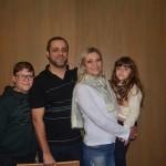 Débora Westphal Mammana da Mimitur Viagens com sua família