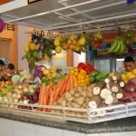 No Mercado Municipal é possivel encontrar os ingredientes tipicos da culinária regional como o Tucumã, Cupuaçu, Açai, Buriti, Araça Boi e outros