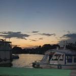 Vista do quarto do hotel Amazon River