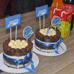 O bolo de aniversário da Trend