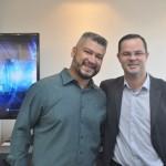 Reginaldo, Gerente Aerotrend e Fabio, gerente de produto da Trend