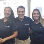 Cristiane Jayme, Diretora da Trend Operadora; Cristinano Placeres, Diretor de produto da região Nordeste e Paula Rorato, gerente senior de produtos da CVC Corp