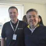 Reinaldo Borelli, executivo de vendas São Paulo e Fabio Cardoso, CEO da VHC