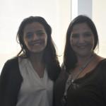 Marcela Ciasca, gerente de produtos inter da CVC Corp e Imara Gasperini, gerente de Pós Travel da Trend