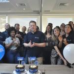A comemoração contou com diversos executivos da CVC Corp e da Trend