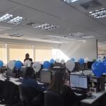 O escritório da Trend fica no prédio da CVC em Santo André, na rua Esmeralda