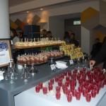 O menu foi elaborado para oferecer aos convidados aquilo que eles precisavam, por exemplo, energia, concentração ou criatividade