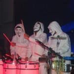 As apresentações musicias agitaram a noite