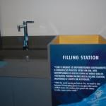 A estação de água potavél é mais uma das iniciativas sustentáveis adotada pelo hotel