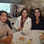 Delfina Balsa, da Delfina Tour, Luciana Araujo, Consultora de Viages, e Rose Christe, da Skye Travel