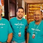 Roberto Grandin, Daniel Castanho e Robson Camargo, diretores do Grupo Ancoradouro