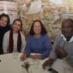 Edna Veloso, da Extrema, Paula Izidorio, da D'orio, Odete Maria, da Livre Tour, e Olante Deodoro, da Cores Vivas