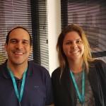 Eduardo Dias (Dias Turismo, Lins) e Debora Beluso (Win Travel, Campinas)