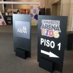 Entrada do Cmarote Arena Kids