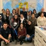 Equipe da Trend no Sul comemorando os 27 anos da consolidadora