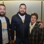 Gabriel Gonçalves, da Impact, Marco Antônio Tiago, representante de Bonito e Pantanal, e Dinair Marques, da Fundação de Turismo do Mato Grosso do Sul